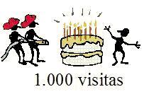 Visitante nº 1.000
